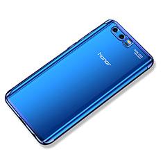 Coque Ultra Fine TPU Souple Housse Etui Transparente H02 pour Huawei Honor 9 Bleu