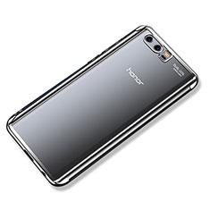 Coque Ultra Fine TPU Souple Housse Etui Transparente H02 pour Huawei Honor 9 Premium Argent