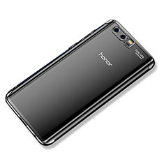 Coque Ultra Fine TPU Souple Housse Etui Transparente H02 pour Huawei Honor 9 Premium Noir