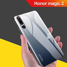 Coque Ultra Fine TPU Souple Housse Etui Transparente H02 pour Huawei Honor Magic 2 Noir