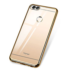 Coque Ultra Fine TPU Souple Housse Etui Transparente H02 pour Huawei Honor Play 7X Or