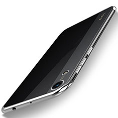 Coque Ultra Fine TPU Souple Housse Etui Transparente H02 pour Huawei Honor Play 8A Argent