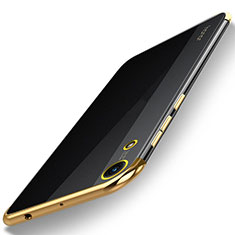 Coque Ultra Fine TPU Souple Housse Etui Transparente H02 pour Huawei Honor Play 8A Or
