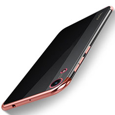 Coque Ultra Fine TPU Souple Housse Etui Transparente H02 pour Huawei Honor Play 8A Or Rose
