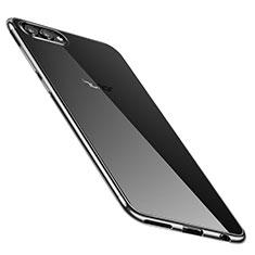 Coque Ultra Fine TPU Souple Housse Etui Transparente H02 pour Huawei Honor V10 Argent