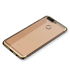 Coque Ultra Fine TPU Souple Housse Etui Transparente H02 pour Huawei Honor V9 Or