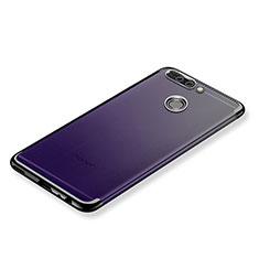 Coque Ultra Fine TPU Souple Housse Etui Transparente H02 pour Huawei Honor V9 Violet