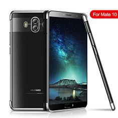Coque Ultra Fine TPU Souple Housse Etui Transparente H02 pour Huawei Mate 10 Argent