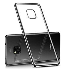 Coque Ultra Fine TPU Souple Housse Etui Transparente H02 pour Huawei Mate 20 Pro Noir