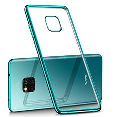 Coque Ultra Fine TPU Souple Housse Etui Transparente H02 pour Huawei Mate 20 Pro Vert