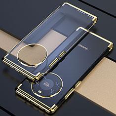 Coque Ultra Fine TPU Souple Housse Etui Transparente H02 pour Huawei Mate 40 Or