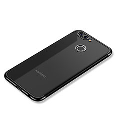 Coque Ultra Fine TPU Souple Housse Etui Transparente H02 pour Huawei Nova 2 Noir