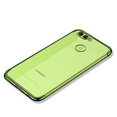Coque Ultra Fine TPU Souple Housse Etui Transparente H02 pour Huawei Nova 2 Plus Vert