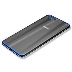 Coque Ultra Fine TPU Souple Housse Etui Transparente H02 pour Huawei Nova 2S Bleu