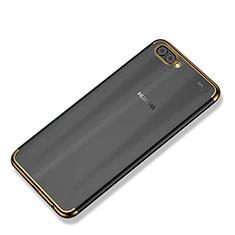 Coque Ultra Fine TPU Souple Housse Etui Transparente H02 pour Huawei Nova 2S Or