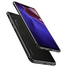 Coque Ultra Fine TPU Souple Housse Etui Transparente H02 pour Huawei Nova 3 Noir