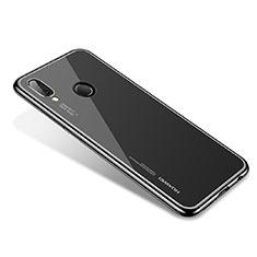 Coque Ultra Fine TPU Souple Housse Etui Transparente H02 pour Huawei Nova 3e Noir