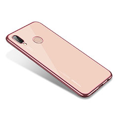 Coque Ultra Fine TPU Souple Housse Etui Transparente H02 pour Huawei Nova 3e Or Rose