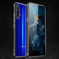 Coque Ultra Fine TPU Souple Housse Etui Transparente H02 pour Huawei Nova 5T Noir