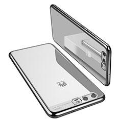 Coque Ultra Fine TPU Souple Housse Etui Transparente H02 pour Huawei P10 Argent