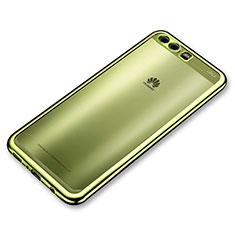 Coque Ultra Fine TPU Souple Housse Etui Transparente H02 pour Huawei P10 Vert