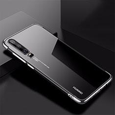 Coque Ultra Fine TPU Souple Housse Etui Transparente H02 pour Huawei P30 Argent