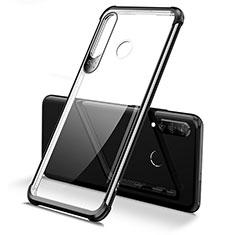 Coque Ultra Fine TPU Souple Housse Etui Transparente H02 pour Huawei P30 Lite Noir