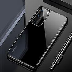 Coque Ultra Fine TPU Souple Housse Etui Transparente H02 pour Huawei P40 Pro Noir