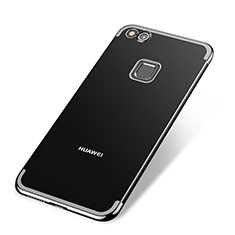 Coque Ultra Fine TPU Souple Housse Etui Transparente H02 pour Huawei P8 Lite (2017) Noir