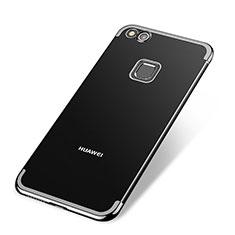 Coque Ultra Fine TPU Souple Housse Etui Transparente H02 pour Huawei P9 Lite (2017) Noir