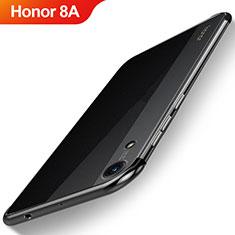 Coque Ultra Fine TPU Souple Housse Etui Transparente H02 pour Huawei Y6 Prime (2019) Noir