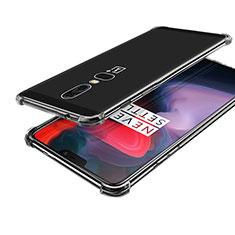 Coque Ultra Fine TPU Souple Housse Etui Transparente H02 pour OnePlus 6 Clair
