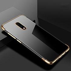 Coque Ultra Fine TPU Souple Housse Etui Transparente H02 pour OnePlus 7 Or