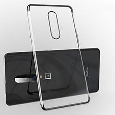 Coque Ultra Fine TPU Souple Housse Etui Transparente H02 pour OnePlus 7 Pro Noir