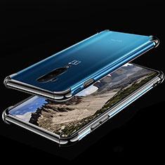 Coque Ultra Fine TPU Souple Housse Etui Transparente H02 pour OnePlus 7T Pro 5G Noir