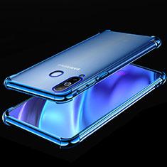 Coque Ultra Fine TPU Souple Housse Etui Transparente H02 pour Samsung Galaxy A8s SM-G8870 Bleu