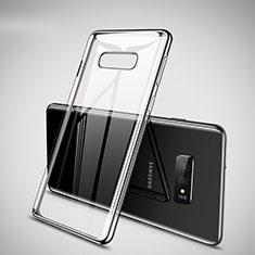 Coque Ultra Fine TPU Souple Housse Etui Transparente H02 pour Samsung Galaxy S10e Argent
