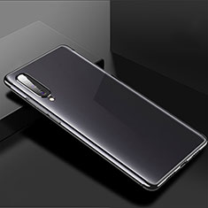 Coque Ultra Fine TPU Souple Housse Etui Transparente H02 pour Xiaomi CC9e Noir