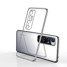 Coque Ultra Fine TPU Souple Housse Etui Transparente H02 pour Xiaomi Mi 10 Ultra Argent