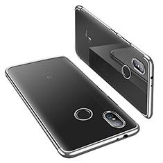 Coque Ultra Fine TPU Souple Housse Etui Transparente H02 pour Xiaomi Mi 6X Argent