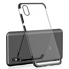 Coque Ultra Fine TPU Souple Housse Etui Transparente H02 pour Xiaomi Mi 8 Screen Fingerprint Edition Noir