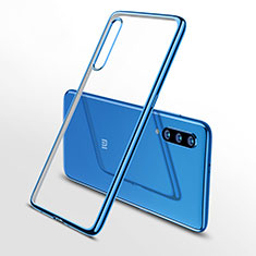Coque Ultra Fine TPU Souple Housse Etui Transparente H02 pour Xiaomi Mi 9 Bleu