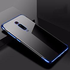 Coque Ultra Fine TPU Souple Housse Etui Transparente H02 pour Xiaomi Mi 9T Bleu