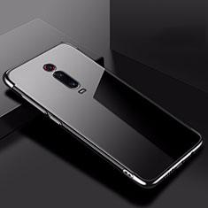 Coque Ultra Fine TPU Souple Housse Etui Transparente H02 pour Xiaomi Mi 9T Noir