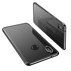 Coque Ultra Fine TPU Souple Housse Etui Transparente H02 pour Xiaomi Mi A2 Noir