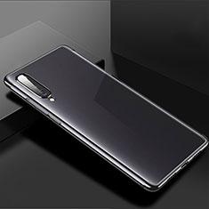 Coque Ultra Fine TPU Souple Housse Etui Transparente H02 pour Xiaomi Mi A3 Noir