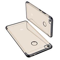 Coque Ultra Fine TPU Souple Housse Etui Transparente H02 pour Xiaomi Mi Max Noir