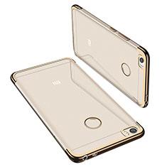 Coque Ultra Fine TPU Souple Housse Etui Transparente H02 pour Xiaomi Mi Max Or