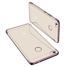 Coque Ultra Fine TPU Souple Housse Etui Transparente H02 pour Xiaomi Mi Max Or Rose
