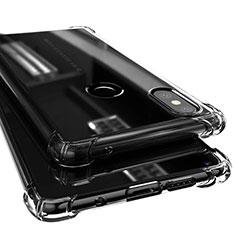 Coque Ultra Fine TPU Souple Housse Etui Transparente H02 pour Xiaomi Mi Mix 2S Noir
